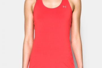 Tielko UNDER ARMOUR HG Armour Racer Tank Red Červená XS