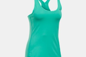 Tielko UNDER ARMOUR HG Armour Racer Tank Green Zelená MD